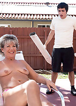 Constance, 52, Fucks A 23-year-old - Constance Joy And Ricky Spanish (46 Photos) - 50 Plus Milfs