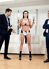 Maid For Double Penetration - Patty Michova, Kristof Cale, And Steve Q (175 Photos) - Scoreland