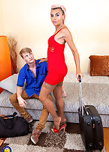 This Toyboy Gets On A Steamy Vacation With His Stepmom