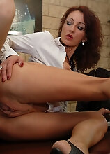 Horny Secretary Getting Her Ass Full Of Cock